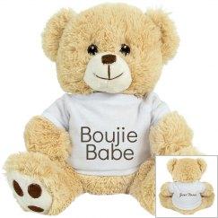 Boujie Babe Puppy Dog Stuffed Animal