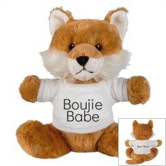 Boujie Babe Fox Stuffed Animal