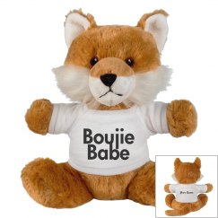 Boujie Babe Fox Stuffed Animal