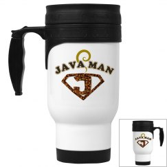 Java Man Coffee Humor Travel Mug