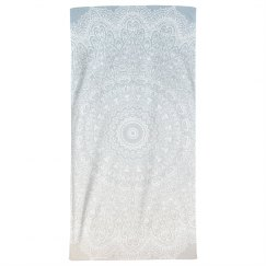 Mandala Print Beach Towel