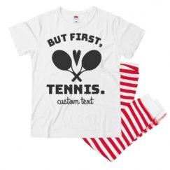 Youth Pajama 1x1 Rib Bottom Set