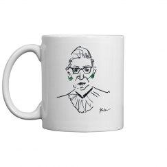 RBG Coffee Mug White