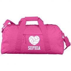 Sophia's Volleyball Bag