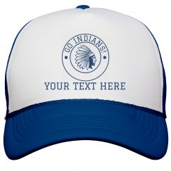 Custom Text Mascot Hat