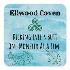 Ellwood Coven Magnet - Blue