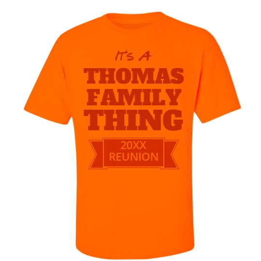 1c7e430a8 Family Reunion Thing Unisex Ultra Cotton Safety Neon Crew Neck T-Shirt