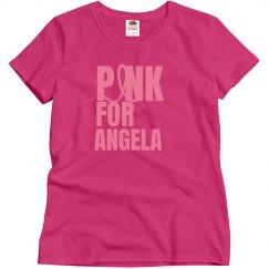 Pink Ribbon For Angela