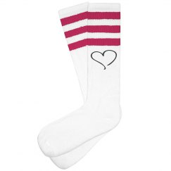PINK BOOTCAMP SOCKS