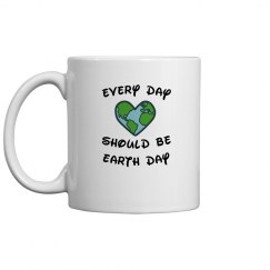 Earth Day Ceramic Mug