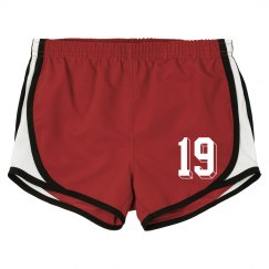 Ladies Sports Shorts Template