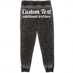 Cozy Comfortable Customizable Text