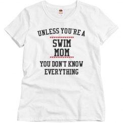 swim mom knows all