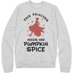 This Princess Needs Pumpkin Spice