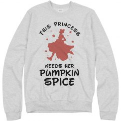 This Princess Needs Pumpkin Spice