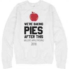 Custom Family Fun Apple Picking