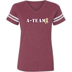 Burgundy A-team