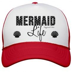 Red mermaid life