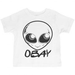 Obay the Gray Alien T-Shirt