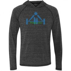 Press on - All Sport Tri-blend Hooded Tee