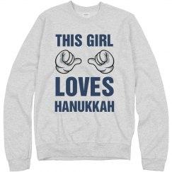 THIS GIRL LOVES HANUKKAH
