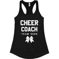 Cheer Coach Custom Tank