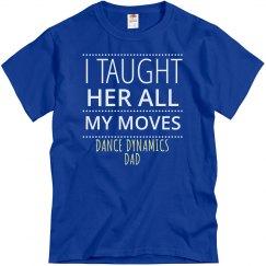 Dance Dad T-shirt 1