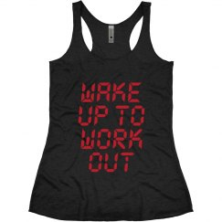 Wake Up Work Out Funny Fitness