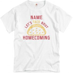 Homecoming Taco Proposal Tee