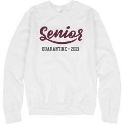 Senior Quarantine Of 2020 Sweater