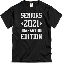 Seniors 2021 Quarantine Edition