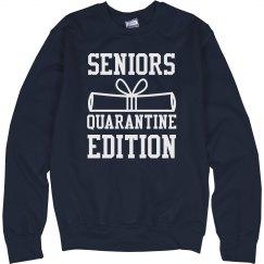 Seniors 2021 Graduation Quarantine
