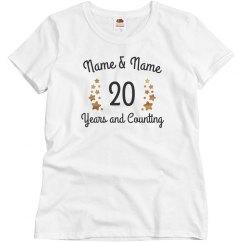 Custom Metallic 20 Years & Counting