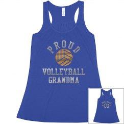 Volleyball Metallic Grandma