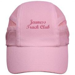 Jeuness White Running Hat