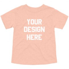 Custom Toddler Triblend T-Shirts