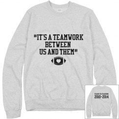 Teamwork Grey sweat