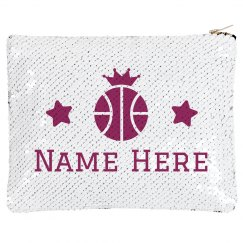 Basketball Crown Custom Name Bag
