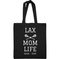 Lax Mom Life Custom Tote