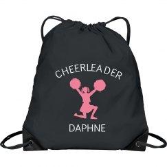 Daphne custom cheerleaders bag