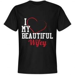I love my wifey shirt
