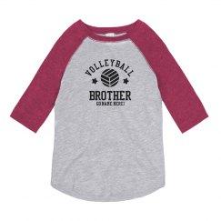 Custom Volleyball Brother