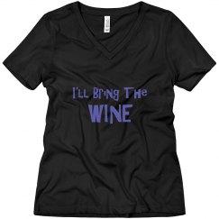 I'll bring the wine