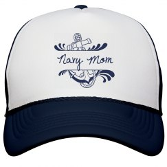 Navy Mom Hat