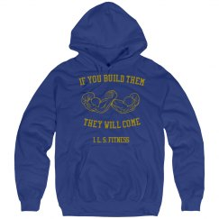 If You Build Them hoodie