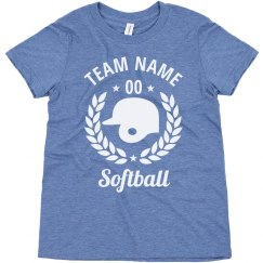 Youth Softball Custom Team Tees