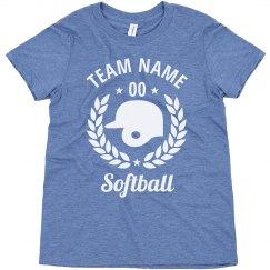 Youth Softball Custom Team Tees