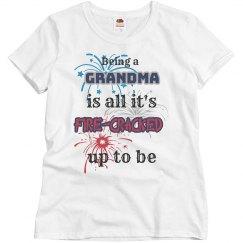 Fourth of July Grandma Shirt