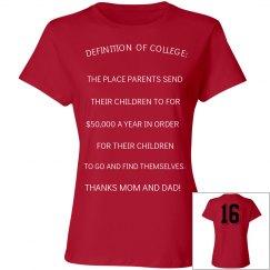Grad Shirt for 2016