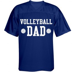Volleyball Dad Sports Jersey